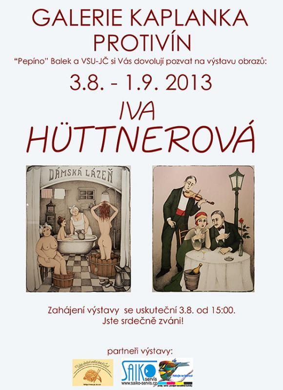 VSU-JČ, Josef Pepíno Balek, Iva Hüttnerová, Galerie Kaplanka, Protivín